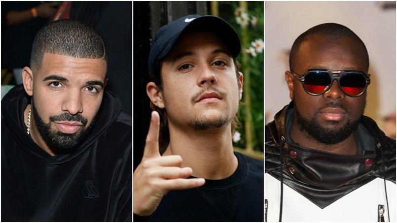 Drake, Nekfeu et Maître Gims parmi les chanteurs les plus écoutés sur Spotify en 2015.