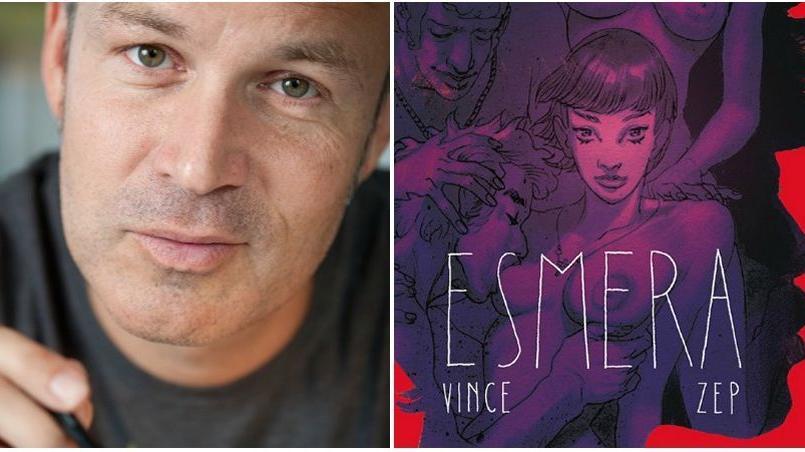 Zep publie Esmera, un conte pornographique qui explore toutes les facettes du plaisir, dans une approche décomplexée de la sexualité.