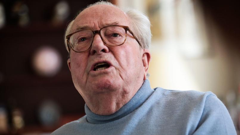 Jean-Marie Le Pen, le 12 avril 2015.