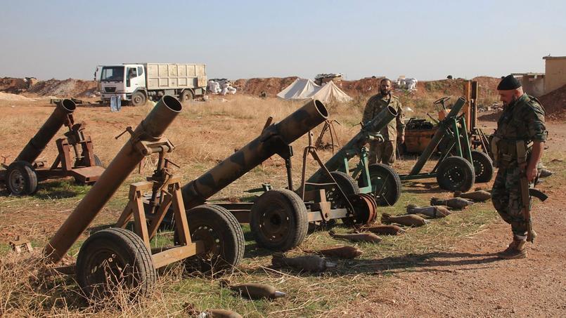 La France a déjà fourni des armes aux rebelles syriens avant qu'elles ne tombent aux mains de l'EI.