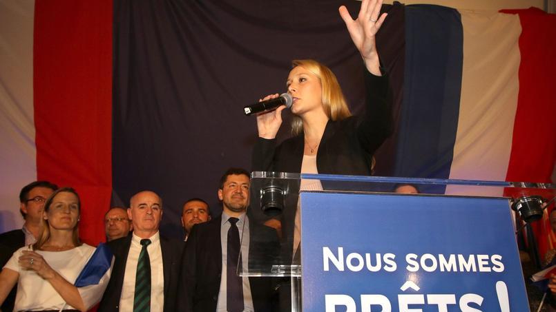 Marion Maréchal-Le Pen, le 6 décembre.