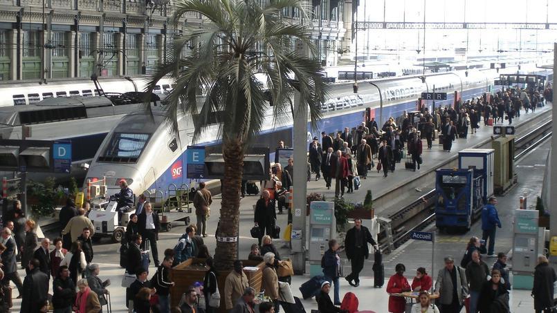 La gare de Lyon, à Paris.