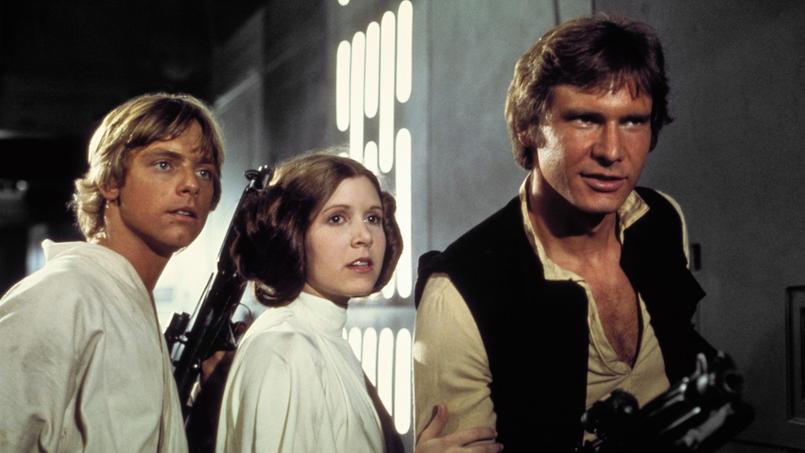 Luke Skywalker, princesse Leïa, Han Solo