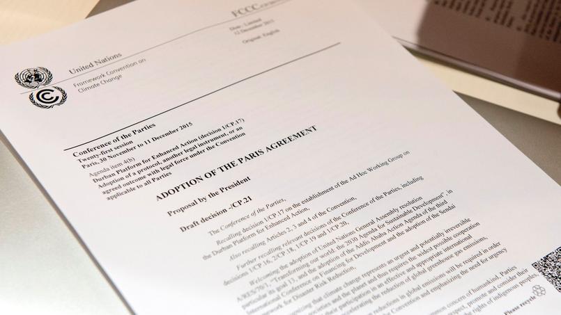 Le projet d'accord tel qu'il a été remis samedi à 13h30 aux parties.