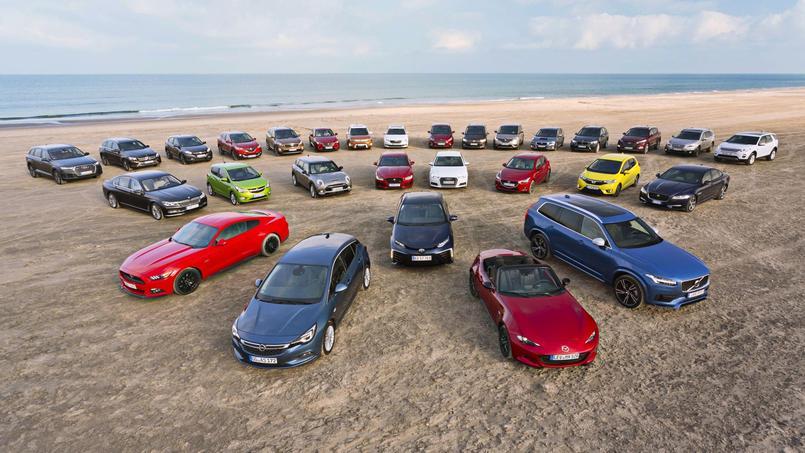 Cette année, trente-cinq voitures étaient éligibles, il en reste sept.