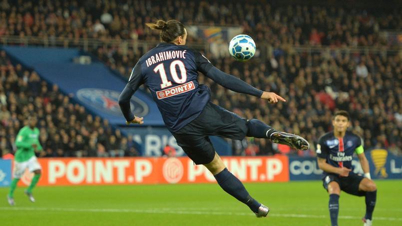Le geste génial d'Ibrahimovic face à Saint-Etienne