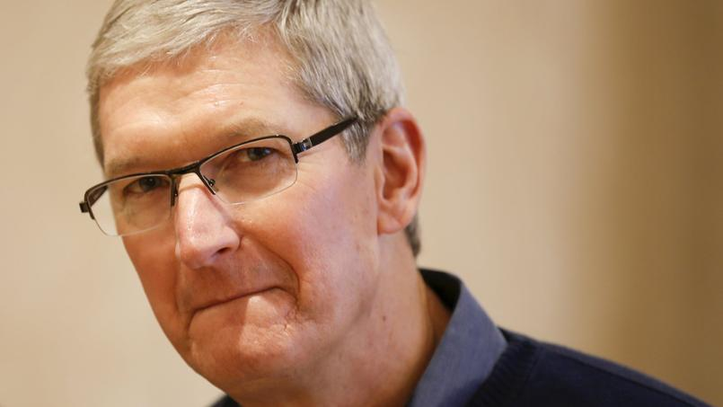 Tim Cook, PDG d'Apple.
