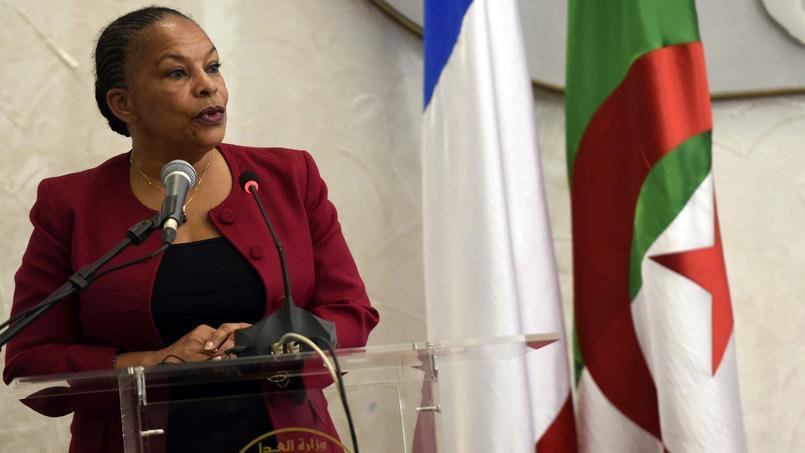 Christiane Taubira en Algérie, le 21 décembre 2015.