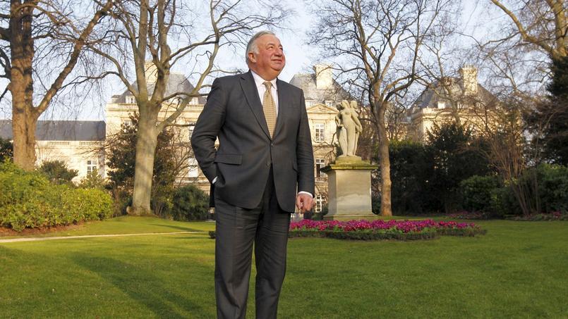 Le président LR du Sénat, Gérard Larcher