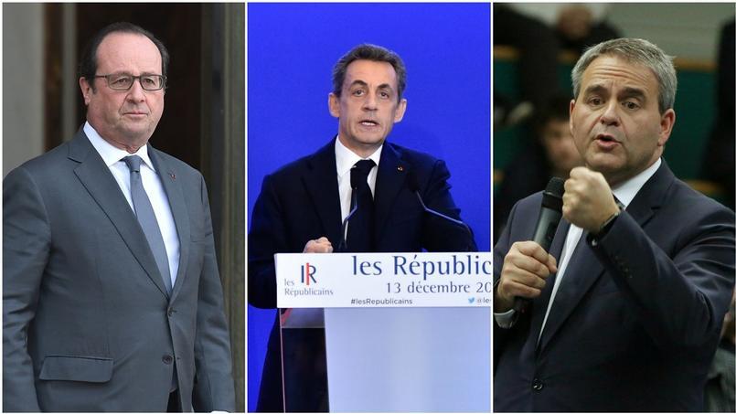 La cote de popularité de Hollande et Sarkozy en baisse, celle de Bertrand explose