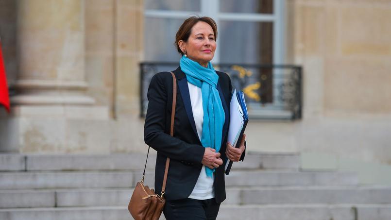 La ministre de l'Environnement, Ségolène Royal (PS)