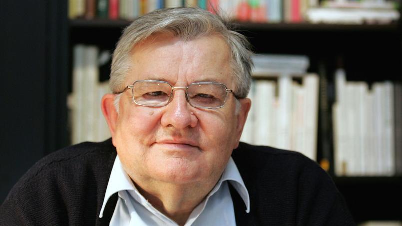 Jean-Marie Pelt, el 29 janvier 2015 à Metz.