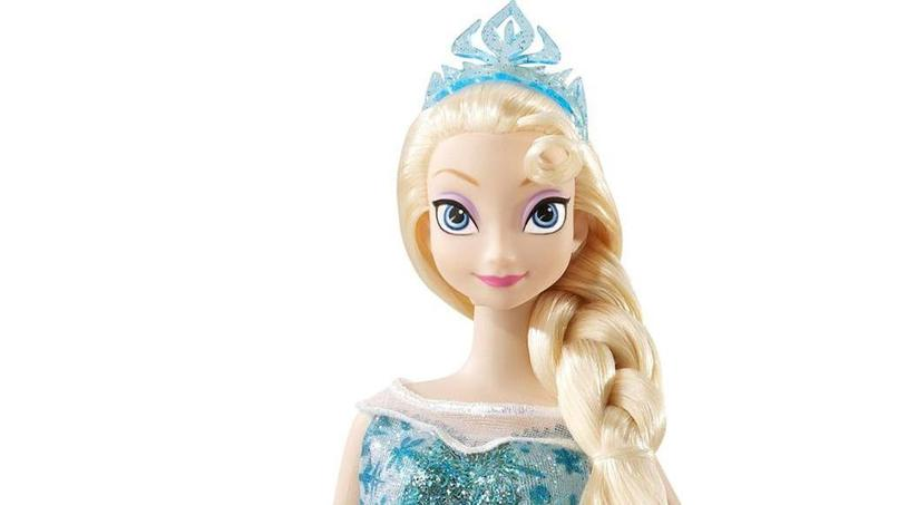 La poupée Elsa, de la Reine des neiges, est l'un des jouets les plus revendus.