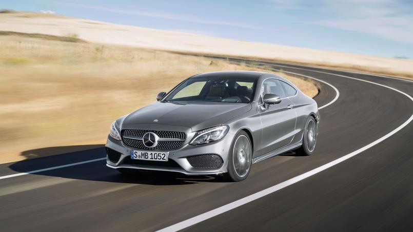 Avec le nouveau coupé Classe C, Mercedes espère dépasser les volumes du précédent modèle vendu à 150 000 unités.