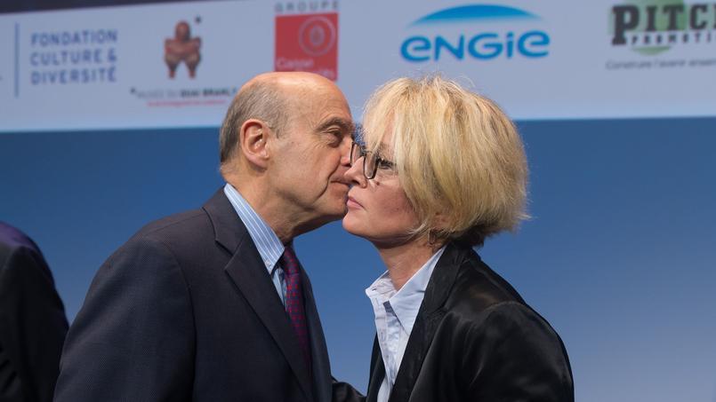 Alain Juppé et Claude Chirac à Paris, le 19 novembre 2015.