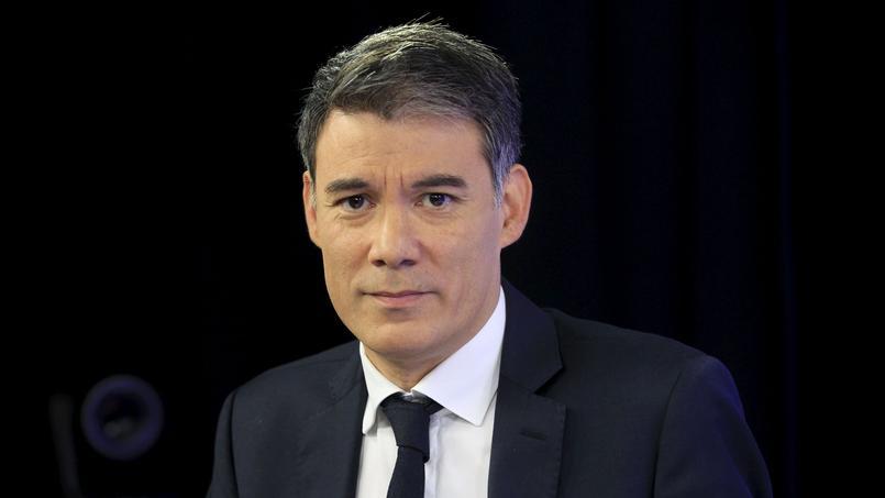 Olivier Faure dans les studios du Figaro, le 7 décembre 2015.