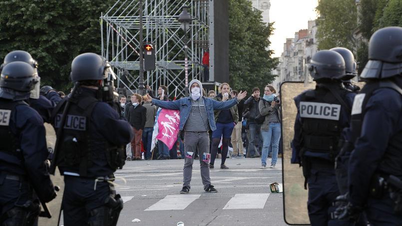De nombreux opposants à la loi Taubira s'étaient estimés maltraités par les forces de l'ordre lors des manifestations de 2013. Ici, lors de la grande manifestation organisé par le collectif le 26 mai 2013.