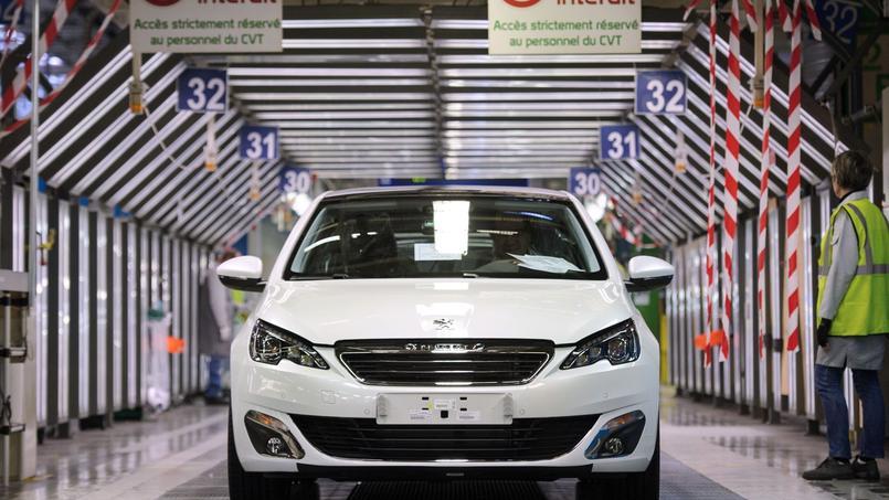 PSA Peugeot-Citroën a vu ses immatriculations grimper de 7,7% en décembre.