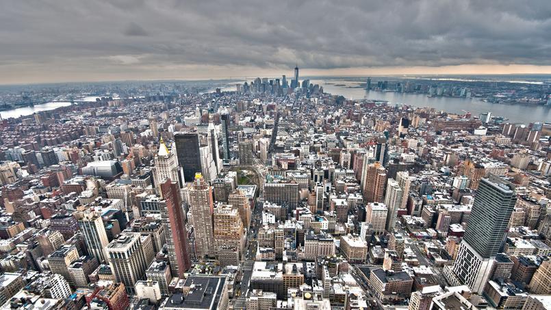 La première borne a été installée à l'angle de la 3e avenue et de la 15e rue, dans le bas Manhattan (Crédit: Luvi, Lower Manhattan, via Flickr sous licence Creative commons)