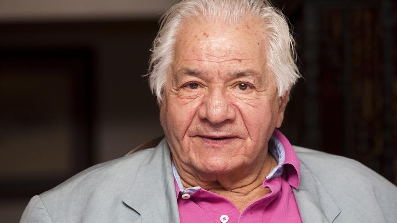 Michel Galabru à Ramatuelle, en août 2009.