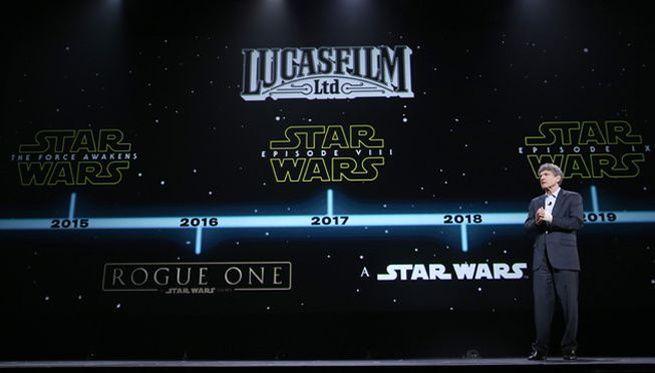 Au risque d'être victime d'une indigestion, la saga intergalactique va revenir à cinq reprises sur grand écran d'ici 2020.