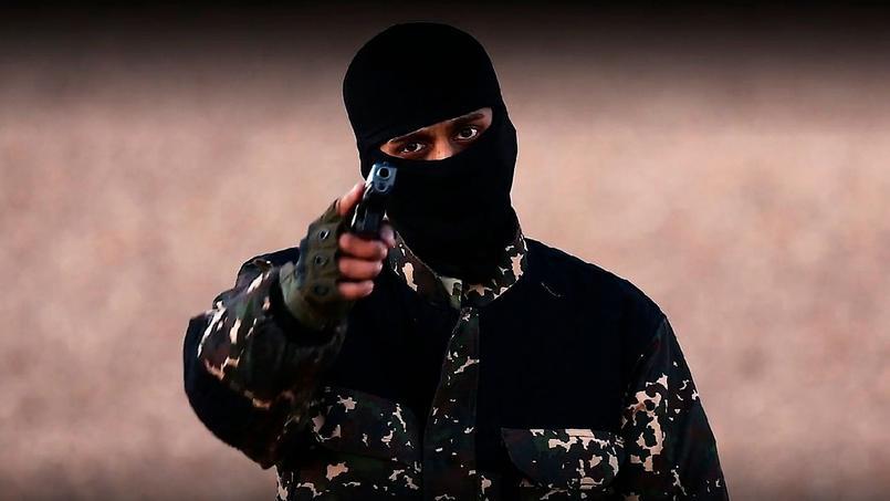 la vidéo diffusée dimanche montre l'exécution de cinq hommes, présentés par un djihadiste s'exprimant en anglais comme étant des «espions».