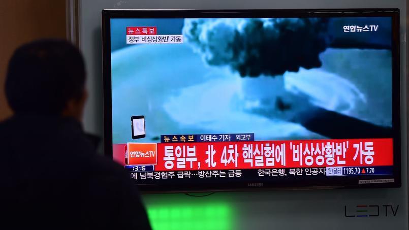 Corée du Nord: la faiblesse de l'explosion fait douter de la réalité d'une bombe H