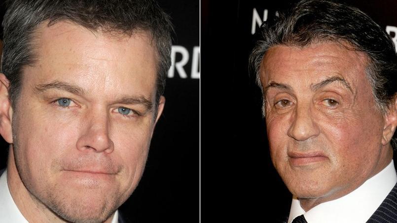 Sylvester Stallone a agi comme un déclic dans la carrière cinématographique de Matt Damon