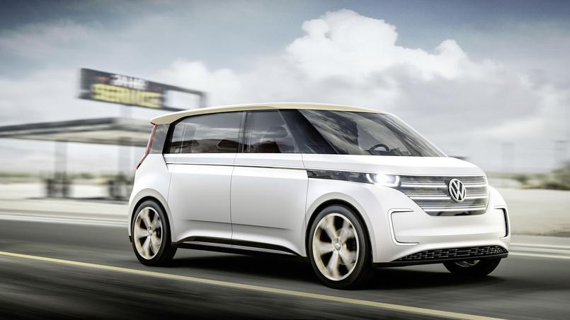 Le monospace électrique Budd-e disposerait d'un autonomie supérieure à 500 kilomètres.