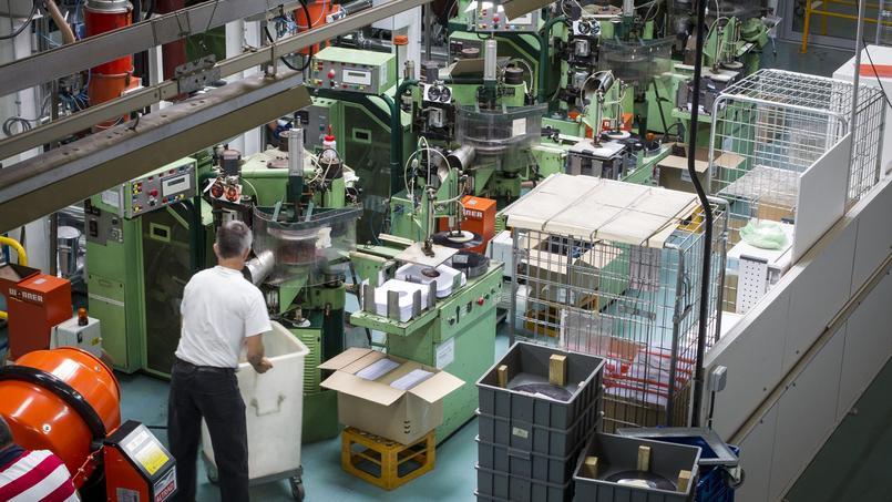 Une usine de moulages de plastiques basée en Mayenne.