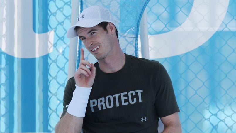 Open d'Australie: Murray zappera la finale en cas de naissance de son enfant
