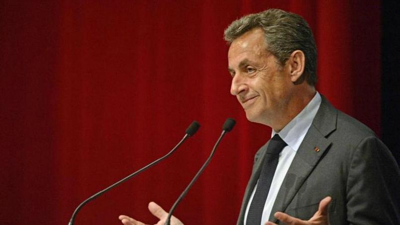 Nicolas Sarkozy s'est exprimé devant des décideurs économiques à Anvers.