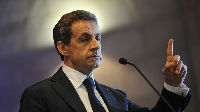 Nicolas Sarkozy, président des Républicains (LR)