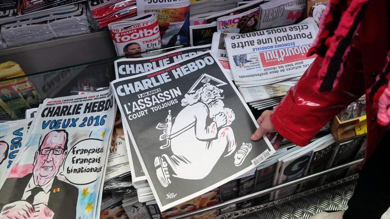 Le nouveau numéro de Charlie Hebdo a été tiré à un million d'exemplaires.
