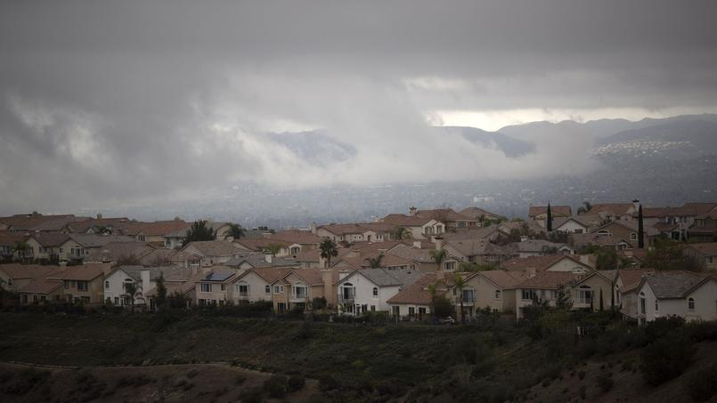 Porter Ranch, près de Los Angeles.