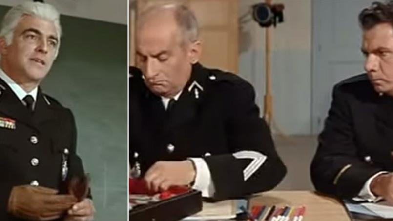 L'acteur français Yves Vincent, le colonel des Gendarmes de Saint-Tropez, est mort mercredi 6 janvier 2016 à 94.