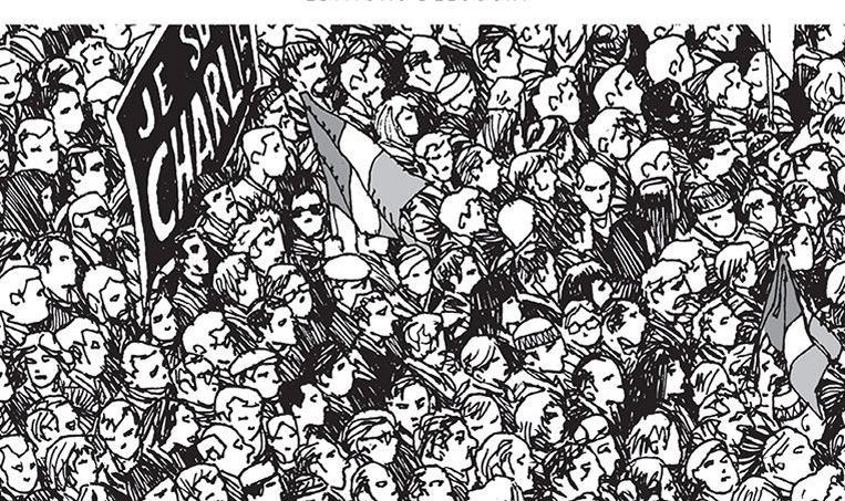 La marche du 11 janvier qui a suivi les attentats perpétrés contre Charlie Hebdo a «fait naître chez beaucoup d'observateurs un trouble quasi spirituel», écrit Serge Lehman, le scénariste de l'album «L'esprit du 11 janvier».
