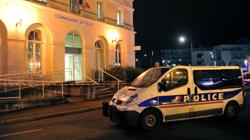 Le commissariat de Joué-lès-Tours victime d'une attaque le 20 décembre 2014