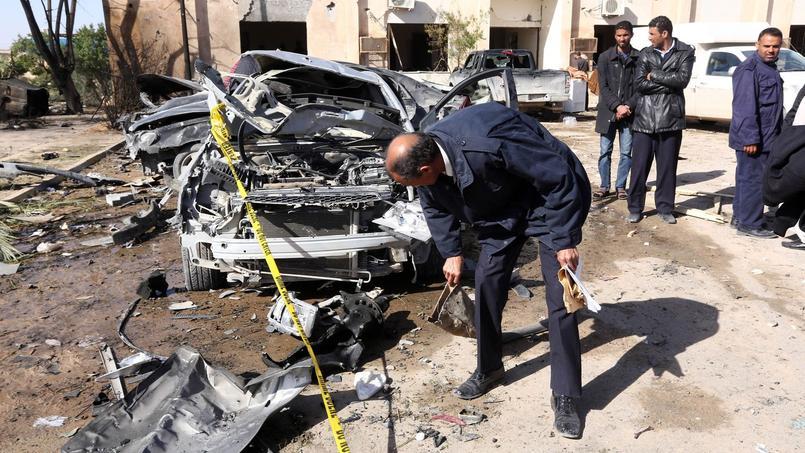 Un attentat au véhicule piégé a visé jeudi un centre de formation de la police à Zliten, en Libye.