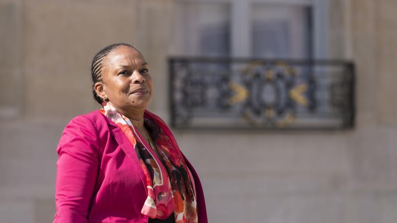 La garde des Sceaux, Christiane Taubira