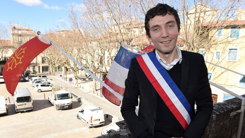 Julien Sanchez à Beaucaire (Gard), le 24 février 2015.