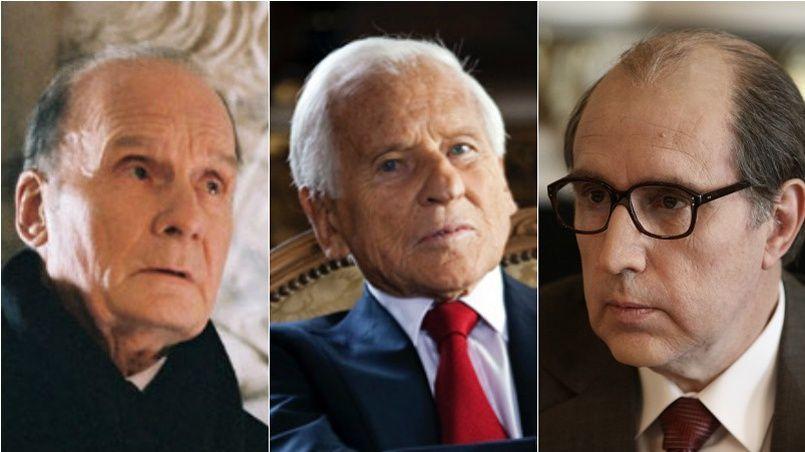 Michel Bouquet, Jean d'Ormesson et Philippe Magnan ont joué François Mitterrand au cinéma.