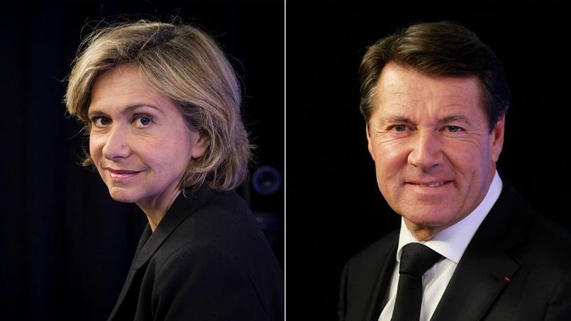 Valérie Pécresse et Christian Estrosi.