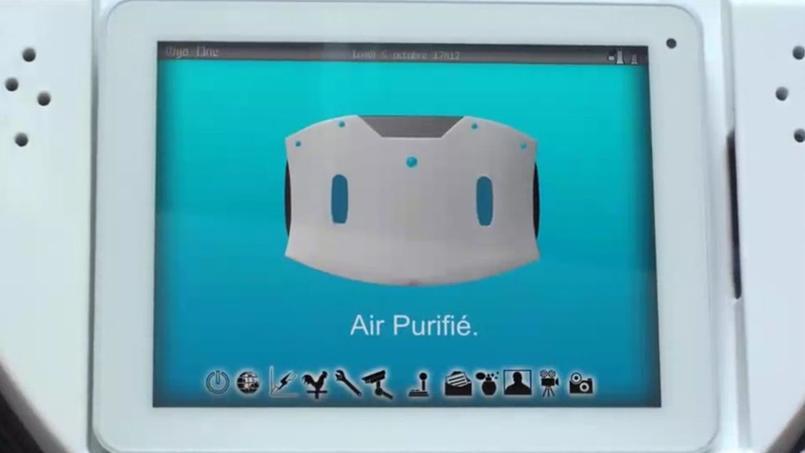 Diya One, le petit robot français contre la pollution de l'air