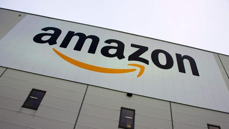 Centre logistique d'Amazon à Brieselang en Allemagne, le 11 novembre 2014. Crédits photo: JOHN MACDOUGALL