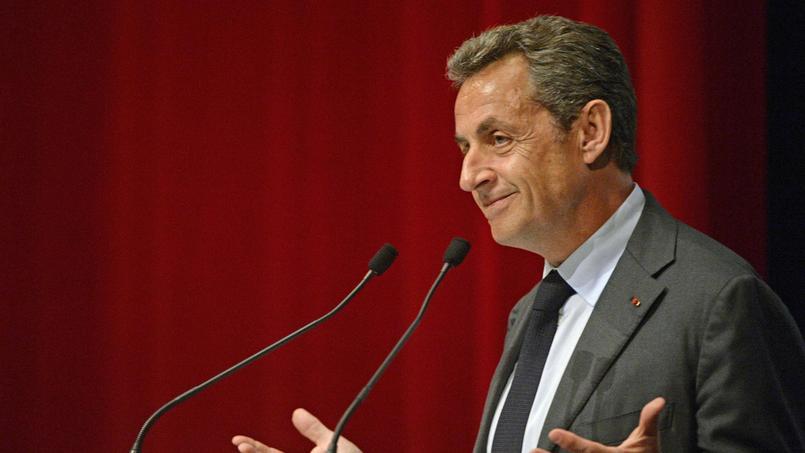 Nicolas Sarkozy le 6 janvier dernier en Belgique.