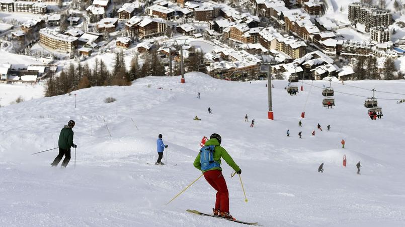 Les stations de ski ont vu leur fréquentation lourdement chuter pendant les vacances de Noël