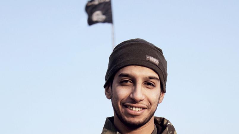 Abdelhamid Abaaoud, dans le magazine de l'EI Dabiq, en février 2015.