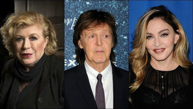 Marianne Faithfull, Paul McCartney et Madonna ont salué la mémoire de David Bowie.