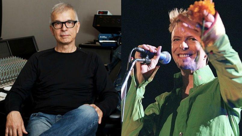 Tony Visconti a notamment produit le dernier album du chanteur disparu, Blackstar.